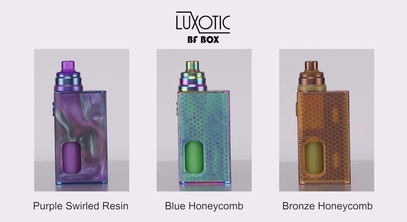 WISMEC LUXOTIC BF BOX with Tobhino BF RDA - Wismec