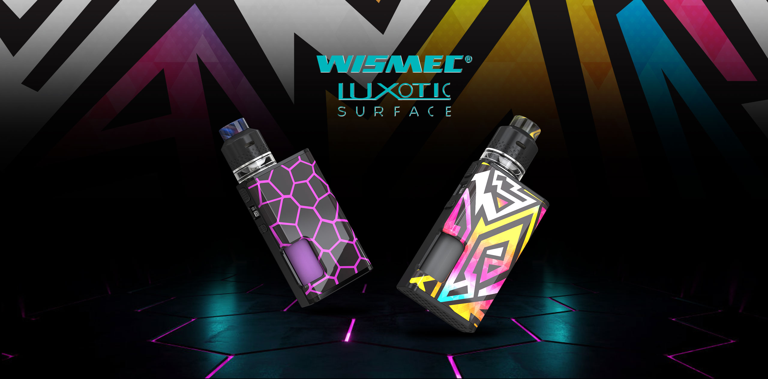 Wismec LUXOTIC SURFACE 80W Squonk Box Mod LUXOTIC-SURFACE_01