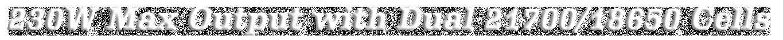 Reuleaux RX2 21700