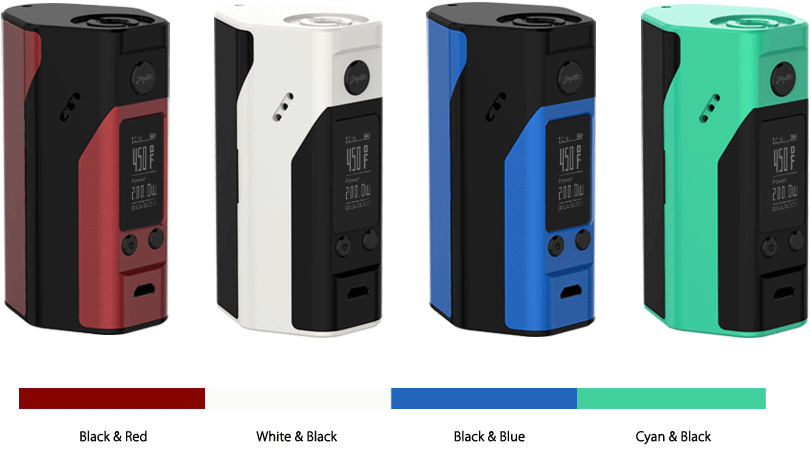 reuleaux rx200s new colors launching wismec electronics co ltd