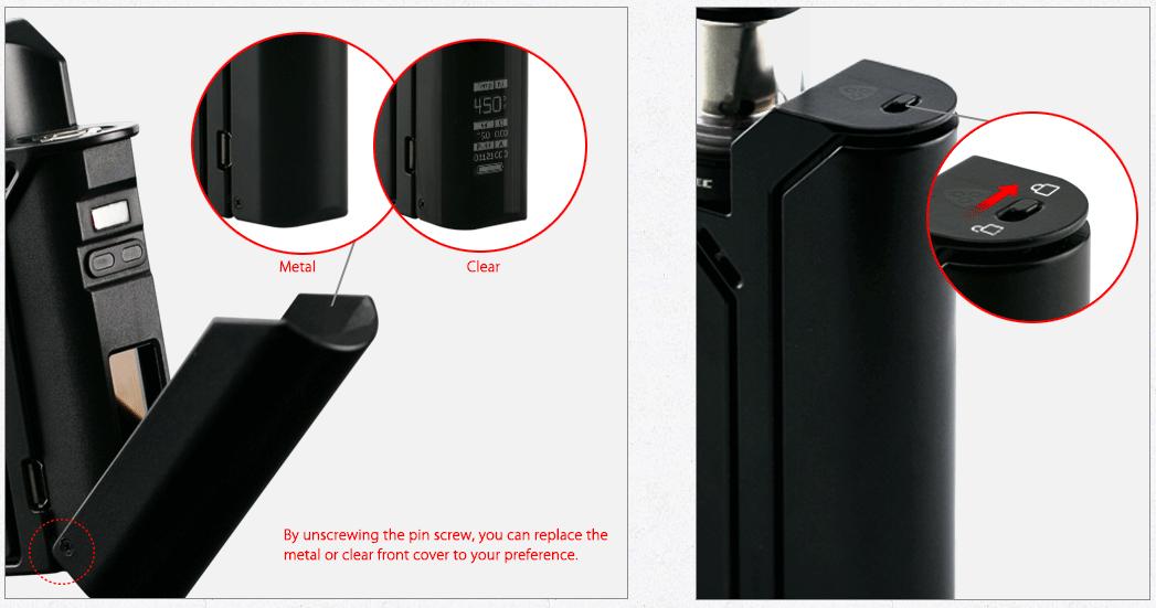 Reuleaux RX75 with Amor Mini Kit - Wismec Electronics Co ,Ltd