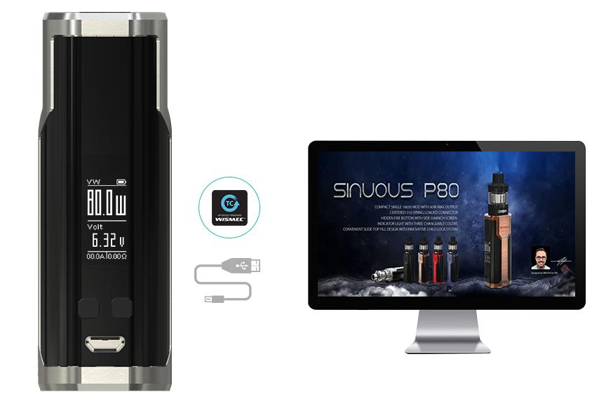 SINUOUS-P80