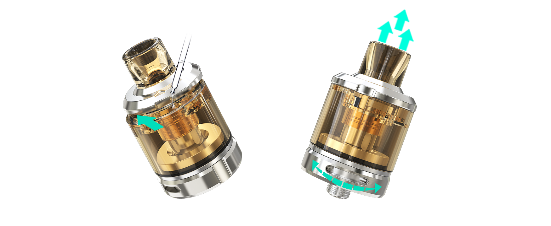 SINUOUS V80 with Amor NSE - Wismec Electronics Co ,Ltd